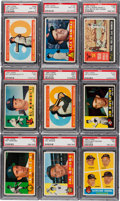 Baseball Cards:Sets, 1960 Topps Baseball Complete Set (572). ...