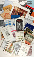 Books:Books about Books, [Publisher Catalogs]. Group Lot of Publisher Catalogs. Very good....