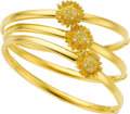 Estate Jewelry:Bracelets, Diamond, Gold Bracelets, Asprey. ... (Total: 3 Items)