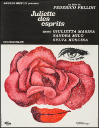 "Juliet of the Spirits (Inter France Distribution, 1965). French Affiche (23.5"" X 30.5""). Foreign"