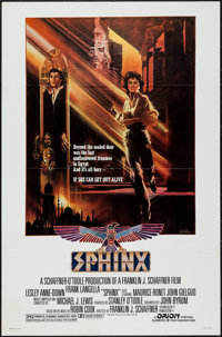 "Sphinx & Others Lot (Orion, 1981). One Sheets (5) (27"" X 41""), Window Cards (2) (14"" X 22"")..."