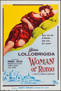"Woman of Rome (Distributors Corporation of America Inc., 1956). One Sheet (27"" X 41""). Drama"