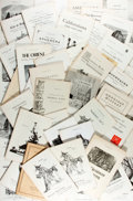 Books:Books about Books, [Bookseller Catalog]. Group Lot of Catalogs from Dawson's Book Shop in Los Angeles. Very good. ...
