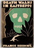 Books:Mystery & Detective Fiction, Francis Beeding. Death Walks in Eastrepps. Mystery League, 1931. First edition. Octavo. Publisher's black cloth....