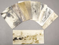 Photography:Cabinet Photos, SUPERIOR LOT OF NINE REAL PHOTO POSTCARDS OF WESTERN TOWN AND RANCHVIEWS - circa 1905-1925. This lot features an original p... (Total:1 Item)