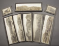 "Photography:Official Photos, SIX OUTSTANDING PANORAMIC SILVER PRINTS OF MORENCI, ARIZONA ca 1900. Six amazing and extremely unusual 20.75"" x 6.25"" images... (Total: 1 Item)"