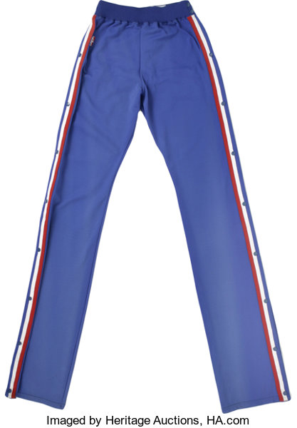 790c1304e 1990-91 Manute Bol Game-Worn Warm-Up Pants. From the time that