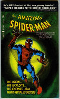 Books:Vintage Paperbacks, Amazing Spider-Man Collector's Album Paperback (Lancer Books, 1966) Condition: NM-....