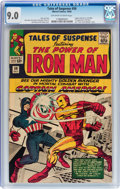 Silver Age (1956-1969):Superhero, Tales of Suspense #58 (Marvel, 1964) CGC VF/NM 9.0 Off-white to white pages....