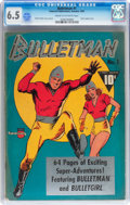 Golden Age (1938-1955):Superhero, Bulletman #1 (Fawcett Publications, 1941) CGC FN+ 6.5 Cream to off-white pages....