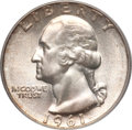 Washington Quarters, 1961 25C MS67 PCGS....