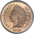 Indian Cents, 1859 1C MS65 PCGS. CAC....