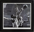 Basketball Collectibles:Others, Bill Russell Signed Stephen Holland Lithograph....