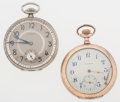 Timepieces:Pocket (post 1900), Howard & Illinois Gold Filled Open Face Pocket Watches. ... (Total: 2 Items)