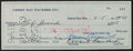 Football Collectibles:Others, 1959 Vince Lombardi Signed Check Made to Bob Skoronski....