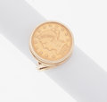 Estate Jewelry:Rings, Gold Coin, Gold Ring. ...