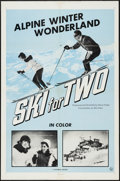 """Movie Posters:Sports, Ski for Two (Universal, 1960s). One Sheet (27"""" X 41""""). Sports Documentary.. ..."""