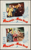 """Movie Posters:Comedy, Romance on the High Seas (Warner Brothers, 1948). Lobby Cards (2)(11"""" X 14""""). Comedy.. ... (Total: 2 Items)"""