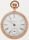 Timepieces:Pocket (post 1900), Seth Thomas 17 Jewel 18 Size Pocket Watch. ...