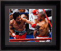 Boxing Collectibles:Autographs, Manny Pacquiao Signed Oversized Photograph. ...