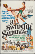 "Movie Posters:Rock and Roll, A Swingin' Summer (United Screen Arts, 1965). One Sheet (27"" X41""). Rock and Roll.. ..."