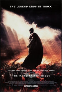 """The Dark Knight Rises (Warner Brothers, 2012). IMAX One Sheet (27"""" X 40""""). Action"""