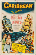 "Movie Posters:Adventure, Caribbean & Other Lot (Paramount, 1952). One Sheets (2) (27"" X41""). Adventure.. ... (Total: 2 Items)"