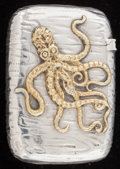 Silver & Vertu:Smalls & Jewelry, A GORHAM SILVER AND SILVER GILT MATCH SAFE . Gorham Manufacturing Co., Providence, Rhode Island, circa 1887. Marks: (lion-an...
