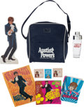 "Movie/TV Memorabilia:Memorabilia, A Michael York Marketing Bag from ""Austin Powers: International Manof Mystery.""..."