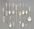 Silver Flatware, American:Tiffany, A ONE HUNDRED AND EIGHTY-SIX PIECE TIFFANY & CO.OLYMPIAN PATTERN SILVER FLATWARE SERVICE . Tiffany &Co., New Y... (Total: 186 Items)