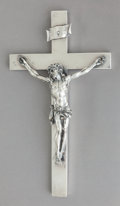 Silver Holloware, American:Other , A GORHAM SILVER CRUCIFIX, circa 1950. Marks: (lion-anchor-G),STERLING, 2617. 11-5/8 inches high (29.5 cm). 20.60 troy ...