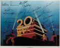 "Movie/TV Memorabilia:Posters, A Movie Star Signed Limited Edition Print from ""20th Century Fox,""Circa 1970s...."