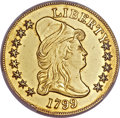 Early Eagles, 1799 $10 Small Stars Obverse -- Polished -- Genuine PCGS. AUDetails. BD-7, R.3....