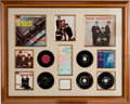 Music Memorabilia:Autographs and Signed Items, Beatles Early Records and Autographs Display (1963)....