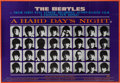 Music Memorabilia:Posters, Beatles A Hard Day's Night Theatrical Poster (UnitedArtists, 1964)....