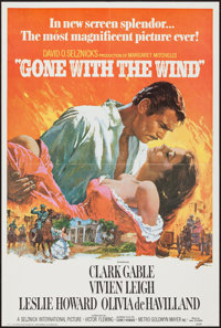"""Gone with the Wind & Others Lot (Portal Publications, 1976). Commercial Posters (5) (19.25"""" X 29"""", 19..."""
