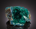 Minerals:Cabinet Specimens, DIOPTASE. Mindouli, Mindouli District, Pool Department, Republicof Congo (Congo-Brazzaville). ...