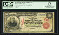 National Bank Notes:Pennsylvania, Pittsburgh, PA - $10 1902 Red Seal Fr. 613 The Commercial NB Ch. # (E)2711. ...