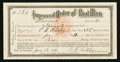 Miscellaneous:Other, Improved Order of Red Men Membership Certificate June 17, 1911.....