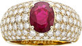 Estate Jewelry:Rings, Ruby, Diamond, Gold Ring, Chaumet. ...