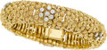 Estate Jewelry:Bracelets, Diamond, Gold Bracelet, English. ...