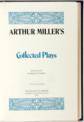 Books:Literature 1900-up, Arthur Miller. SIGNED/LIMITED. Collected Plays. FranklinCenter: Franklin Library, 1980. Limited edition, signed b...