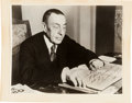 Autographs:Artists, Sergei Rachmaninoff Inscribed Photograph Signed...