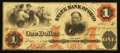 Obsoletes By State:Ohio, Cleveland, OH- The State Bank of Ohio, Merchants Branch $1 Mar. 1,1862 Wolka 0776-08. ...