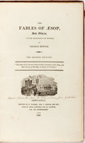 Books:Literature Pre-1900, Thomas Bewick, illustrator. The Fables of Aesop. Newcastle:T. Bewick, 1823. Numerous wood engravings. Second editio...