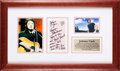 Music Memorabilia:Memorabilia, A Kris Kristofferson and Johnny Cash-Related Note, Circa 1980s....