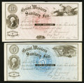 Obsoletes By State:Ohio, Cincinnati, OH- The Great Western Sanitary Fair-Certificates ofContribution $1; $3; $5; $10 Wolka Unlisted. ... (Total: 4 notes)