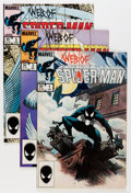 Modern Age (1980-Present):Superhero, Web of Spider-Man #1-129 Group (Marvel, 1985-95) Condition: AverageNM.... (Total: 129 Comic Books)