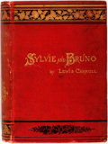Books:Literature Pre-1900, Lewis Carroll. Sylvie and Bruno. With 46 illustrations byHarry Furniss. London: Macmillan and Co., 1890. First edit...