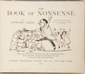 Books:Children's Books, Edward Lear. The Book of Nonsense. London: Frederick Warne,1899. Thirty-fourth edition. Oblong quarto. Publisher's ...